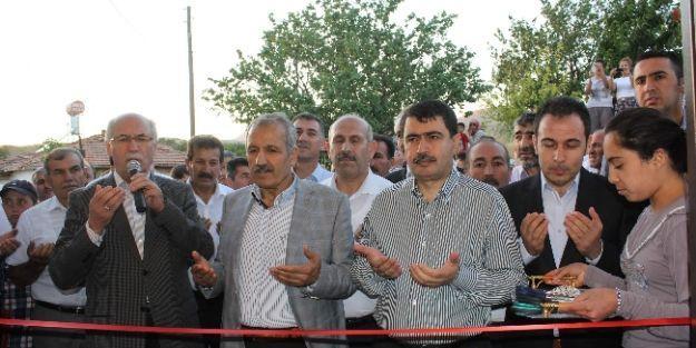 9 Köye 9 Cami Projesinde Tamamlanan Camilerin Açılışı Yapıldı
