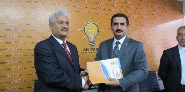 Abuzer Kabakaş, Ak Parti Yeşilyurt Belediye Başkanlığı Aday Adayı Oldu