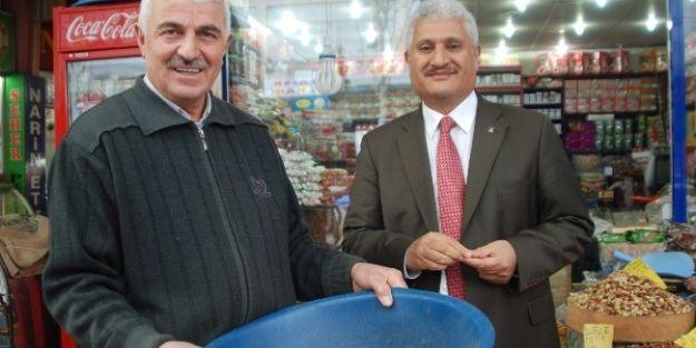 Abuzer Kabakaş, Esnaf Ve Stk Ziyaretlerini Sürdürdü