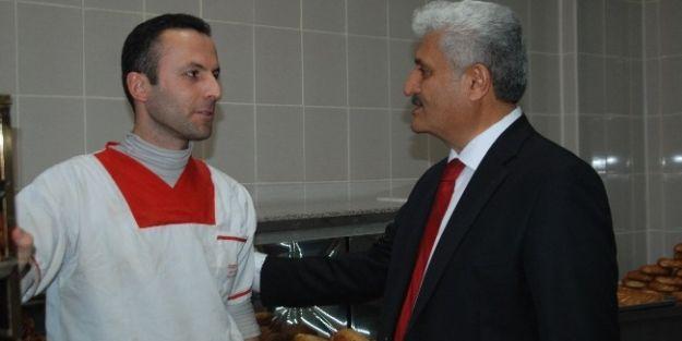 Abuzer Kabakaş, Ziyaretlerini Sürdürüyor