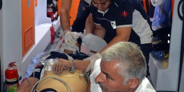 Ağır Yaralı Şahıs, Hastanede Hayatını Kaybetti