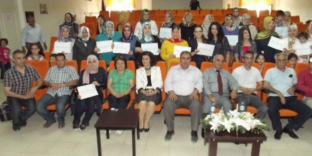 Aile Eğitimi Sertifika Töreni Yapıldı