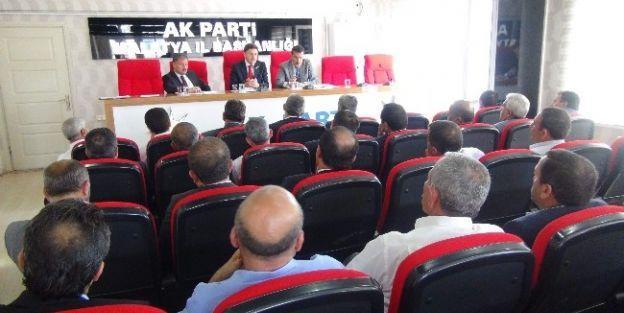 Ak Parti Aylık Grup Toplantısı Yapıldı