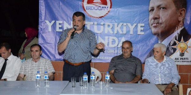 Ak Parti, Fırat Mahallesi'nde Toplantı Yaptı