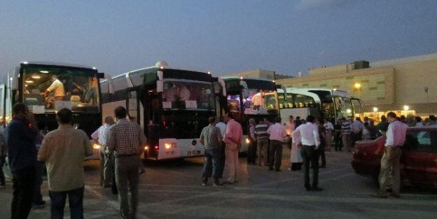 Ak Parti Heyeti Ankara'ya Gitti