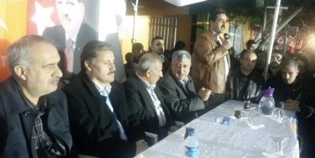 Ak Parti Heyeti, Dilek'te Seçim Çalışması Yaptı