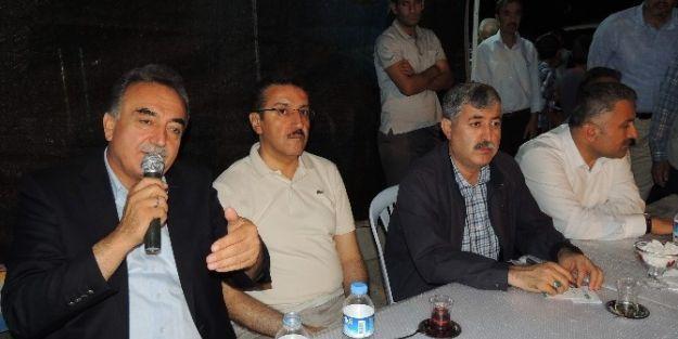 Ak Parti Heyeti, Kaynarca'yı Ziyaret Etti
