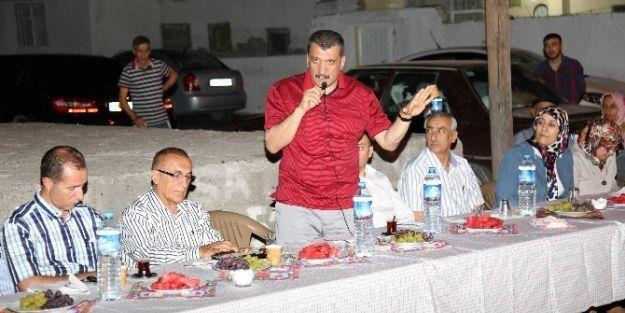 Ak Parti Heyeti, Şehit Fevzi Mahallesi'ni Ziyaret Etti
