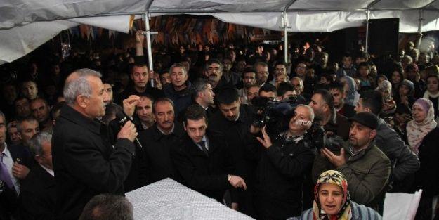 Ak Parti Heyeti, Şehit Fevzi'de Seçim Çalışması Yaptı