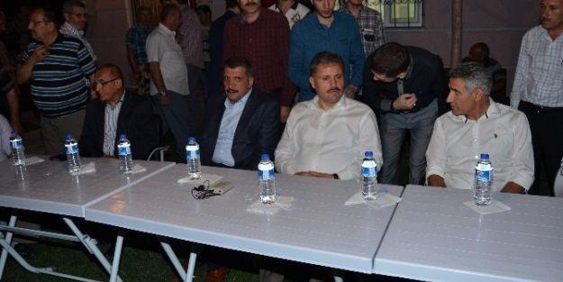 Ak Parti Heyeti Ve Başkanlar,  Ferhadiye Mahallesi'ni Ziyaret Etti