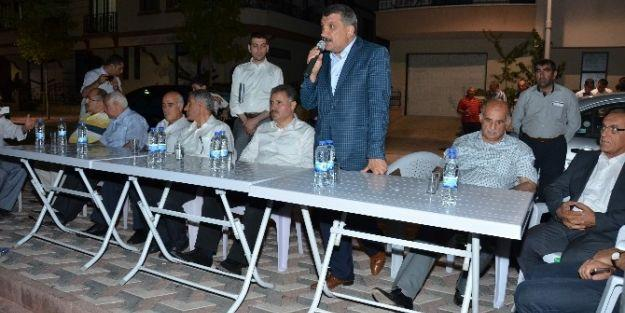 Ak Parti Heyeti, Zafer Mahallesi'ni Ziyaret Etti