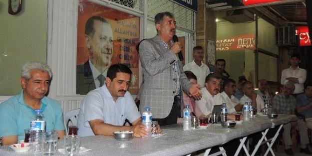 Ak Parti İl Teşkilatı, Yakınca'da Toplantı Yaptı