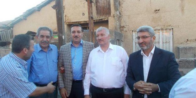 Ak Parti Malatya İl Başkanı Bülent Tüfenkçi Kirve Oldu