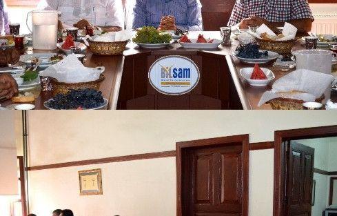 Ak Parti Malatya Milletvekili Faruk Öz, Bilsam'ı Ziyaret Etti