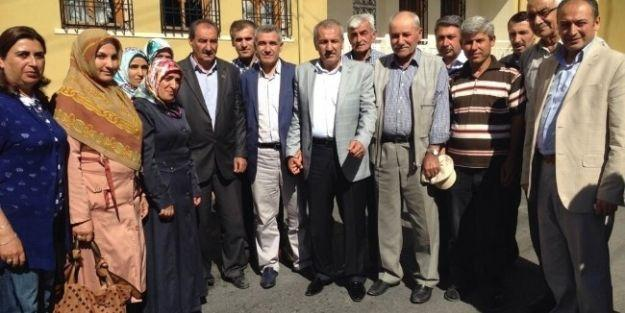 Ak Parti Malatya Milletvekili Mustafa Şahin 3 Mahalleyi Ziyaret Etti