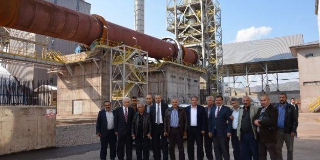 Ak Parti Malatya Milletvekili Mustafa Şahin, Hekimhan'ı Ziyaret Etti