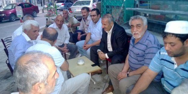 Ak Parti Malatya Milletvekili Mustafa Şahin, Sancaktar Mahallesi'ni Ziyaret Etti