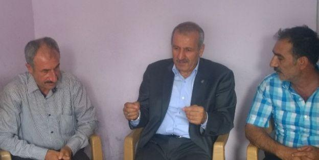 Ak Parti Malatya Milletvekili Mustafa Şahin, Sarıcıoğlu Mahallesi'ni Ziyaret Etti