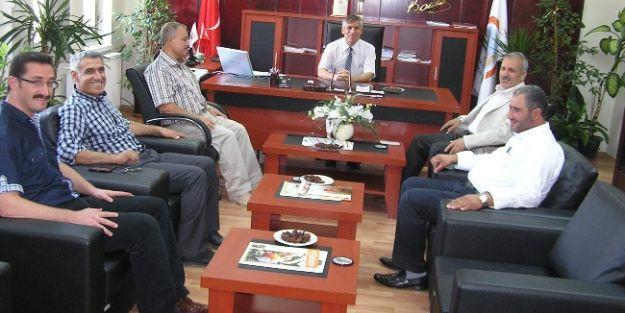 Ak Parti Malatya Milletvekili Mustafa Şahin, Tarım Müdürlüğü'nü Ziyaret Etti