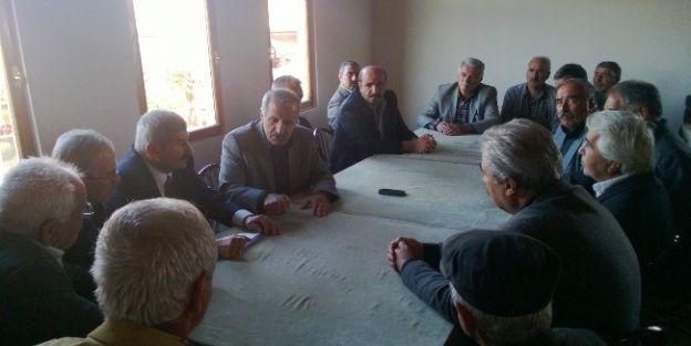 Ak Parti Malatya Milletvekili Mustafa Şahin, Yeşilyurt'u Ziyaret Etti