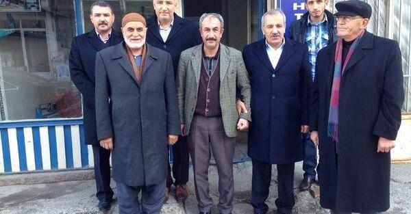 Ak Parti Milletvektili Şahin'nin Mahallesi Ziyareti