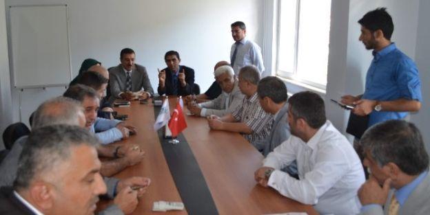Ak Parti Yönetiminden Maski'yi Ziyaret