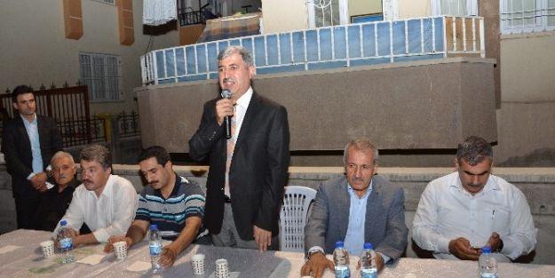 Ak Partililer Salköprü Mahallesi'nde Vatandaşlarla Bir Araya Geldi