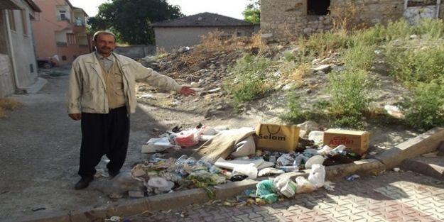 Akçadağ'da Çöp Şikayeti