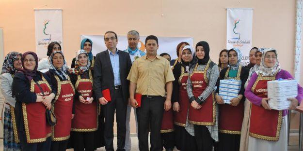 'Ana-Kız' yemek yarışması düzenlendi