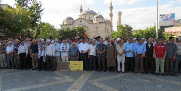 Anadolu Gençlik Derneği Malatya Şubesi'nden İsrail Eylemi