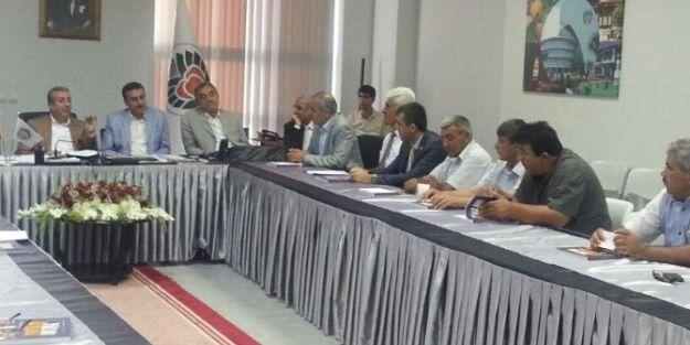 Bakan Eker, Ziraat Oda Başkanlarıyla Görüştü