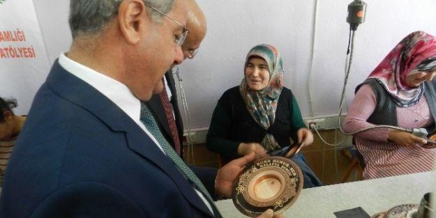 Bakır-ahşap İşleme Atölyeleri 150 Bin Lira Ciro Yaptı