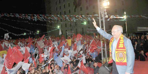 """'Barış ve huzur içinde bir Türkiye istiyoruz"""""""