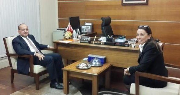 Başbakan Yardımcısı Akdoğan'dan Çalık'a Ziyaret