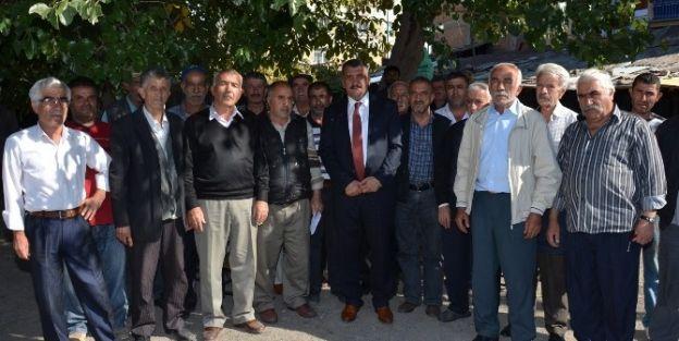 Başkan Gürkan, Eski Tellal Pazarı Esnafları İle Bir Araya Geldi