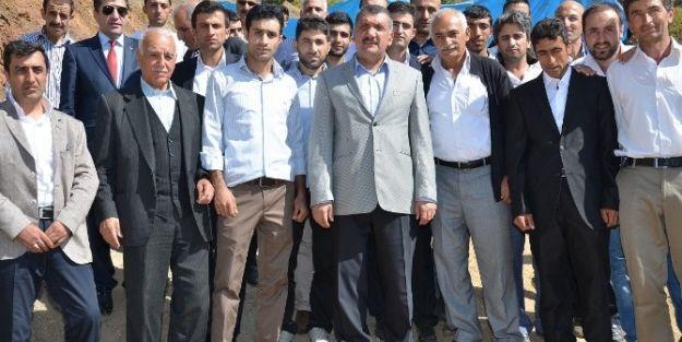 Başkan Selahattin Gürkan, Baba Ocağını Ziyaret Etti