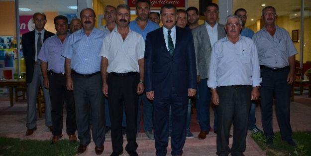 Başkan Selahattin Gürkan, Taşımacı Esnaflarıyla Bir Araya Geldi