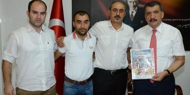 Başkan Selahattin Gürkan'a Ziyaret