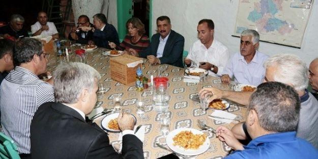 Başkan Selahattinh Gürkan, Aslantepe'de İnceleme Yaptı