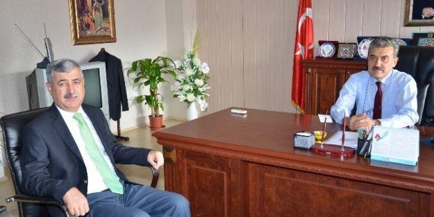 Başkan Uğur Polat'tan Maliye Ziyareti