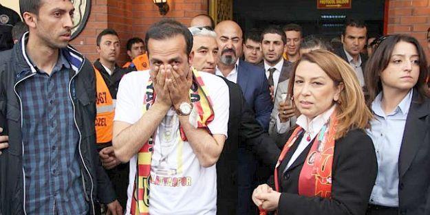 Başkanın Sevinç Gözyaşları