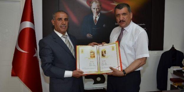 Battaglazi Belediye Başkanı Selahattin Gürkan'a Ziyaretler