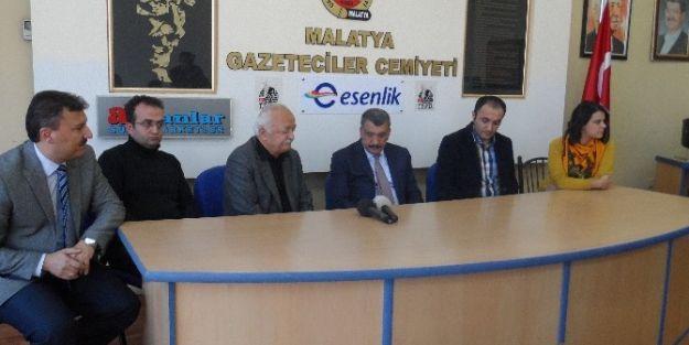 Battalgazi Belediye Başkanı Gürkan'dan Gazeteciler Cemiyetine Ziyaret