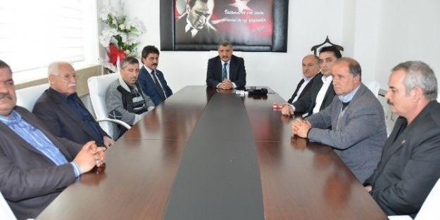 Battalgazili Esnaflar, Başkan Selahattin Gürkan'ı Ziyaret Etti