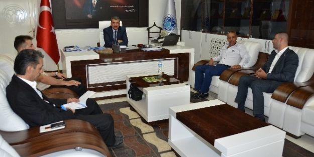 Bbp Yönetimi Başkan Gürkan'ı Ziyaret Etti
