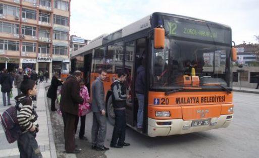 Belediye Otobüsleri Bayramın İlk Günü Ücretsiz