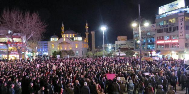 Berkin Elvan için Malatya'da protesto gösterisi yapıldı