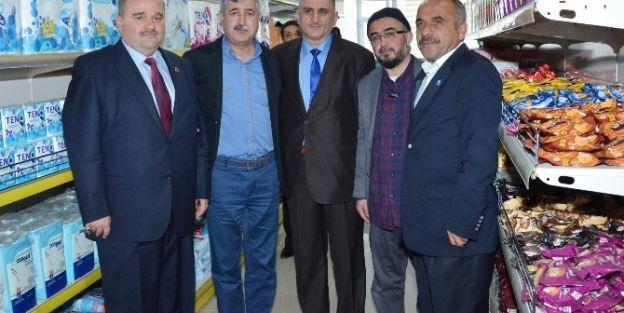 Beşir Derneği, Malatya'da Paylaşım Noktasını Hizmete Açtı