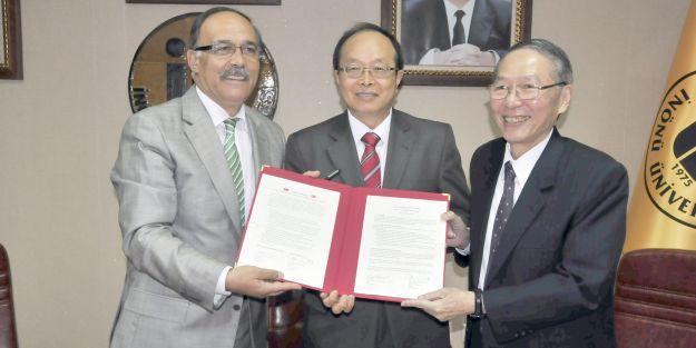 Bilimsel İşbirliği Protokolü' imzalandı.