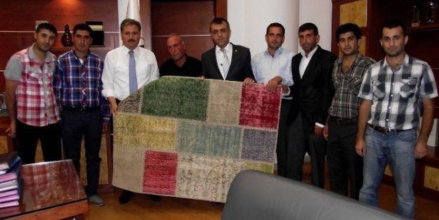 Birlik Başkanı Akın, Başkan Çakır'ı Ziyaret Etti